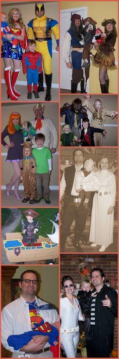 Harris Sisters GirlTalk: Halloween Family or Group Costumes: Superheroes, Pirates, Scooby Doo Gang, Movie Monsters, Star Wars, Superman, Elvis