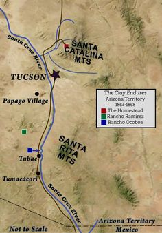 Tucson, Arizona, Mexico, Clay, Santa Cruz, Ranch, Clays, Modeling Dough