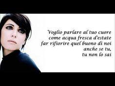 Giorgia - DI SOLE E D'AZZURRO + testo - YouTube