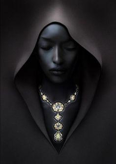 Black Daydreams with Diamonds