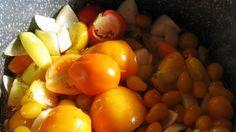 Billede af gul stærk tomatketchup