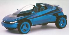Nobody ever said concept cars couldn't be fun, and no vehicle ever demonstrated that idea better than the 1988 Ford Splash concept car.