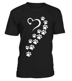 Rainbow Paws to My Heart T-Shirt Funny Animal Rescue T-shirt, Best Animal Rescue T-shirt