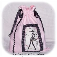 Lingerie Rose, Clothing Packaging, Handmade Bags, Boutique, Drawstring Backpack, Sewing, Sarah Kay, Diy Bags, Blog