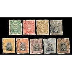 BSA Company Rhodesia - ADMIRALS x9 TO 2 SHILLINGS for only R285.00