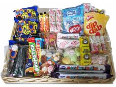 Large Retro Sweet Hamper Sweets Online Ireland Old Fashioned Sweets Sweet Shop Waterford