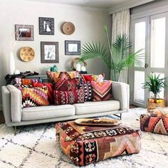 45+ Pretty Bohemian Style Decoration Ideas For Your Living Spaces