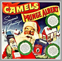 1941 Santa Claus for Camel Cigarettes | Flickr - Photo Sharing!