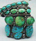 Turquoise Jewelry - made by Native American Indians