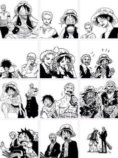 Luffy & Zoro #One_Piece