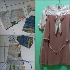 pola baju seadanya
