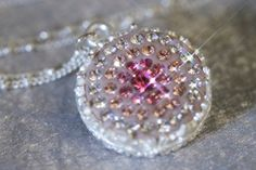 Swarovski Crystals Pink Crystal Clay Epoxy Clay by blingstuffshop, $25.00