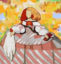 Cuadro Menina (bacb2016-3) Cuadro de… Jack Vettriano, Various Artists, Disney Characters, Fictional Characters, Collage, Dolls, Disney Princess, Illustration, Anime