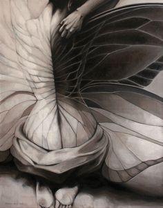 "Saatchi Art Artist: Doris Tesárková Oplová; Oil 2012 Painting ""Unexpected Change"" saatchiart.com"