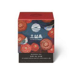 O' sulloc Camellia Flower in full bloom Jeju Forest Green tea : Tropical Fruit Sweet Flavor Medicine Packaging, Paper Packaging, Coffee Packaging, Cosmetic Packaging, Brand Packaging, Product Packaging, Visual Communication Design, Organic Green Tea, Adobe Illustrator Tutorials