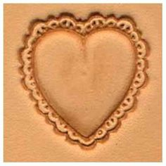 Springfield Leather Company Heart 3D Leather Stamp