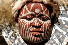 african tribal face paint