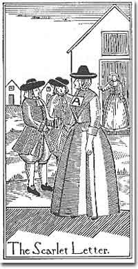 the depiction of the puritans in nathaniel hawthornes the scarlet letter The scarlet letter and nathaniel hawthorne's america his depiction of colonial boston seems so puritans and colonial new englanders are the subject of many.