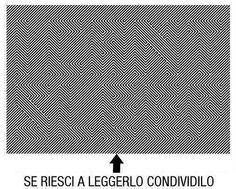 Riuscite a leggerlo?