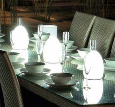 Lámpara Decorativa de Jardín Sin Cables #lamparas #jardin #exterior #decoracion #interiorismo #led