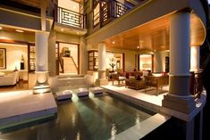 Danzante Bay Villa By Kevin B Howard Architects In Baja California Sur, Mexico Thai House, Interior Architecture, Interior And Exterior, Interior Design, Farmhouse Architecture, Just Dream, My Dream Home, Dream Homes, Style At Home
