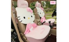 hello kitty automobile car seat cover for girls. this car accessories interior accessories for girls is really cute and smart. http://nemodeco.com/licensed-3d-hello-kitty-car-seat-covers-p-189.html