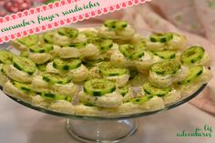 heart-shaped cucumber finger sandwiches recipe, perfect for a shower daytime party