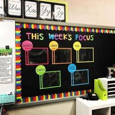 60 Gorgeous Classroom Design Ideas for Back to School Gorgeous classroom design ideas for back to school 12 5th Grade Classroom, New Classroom, Classroom Setting, Classroom Design, Classroom Displays, Classroom Bulletin Boards, Year 3 Classroom Ideas, Elementary Classroom Themes, Space Classroom