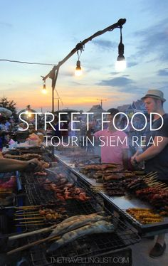 The River Garden street food tour is an interesting way to see a different side of Siem Reap. http://www.thetravellinglist.com/siem-reap-street-food-tour/