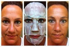 Results from using 1 Facial Wrap from It Works! A box of 4 wraps is just $59 as a Loyal Customer http://wrapwitherint.myitworks.com/
