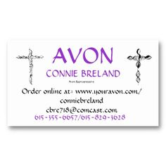 Avon Business Card Avon - Avon business card template