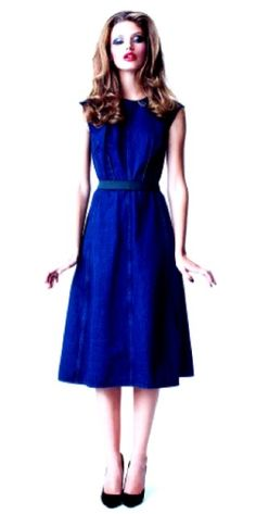 Blue fashion by murtsss Blue Dresses, Dresses Dresses, Rhythm And Blues, Photomontage, Blue Fashion, Who What Wear, Hopelessly Devoted, My Style, Paint