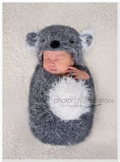 Can you get this for # 2 (and or 3) Baby Koala Set Hat & Swaddle Sack PHOTO PROP size by FUNKYHOOKER, $38.00