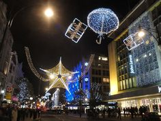 Oxford Street Christmas decorations 2011 7 - Oxford Street - Wikipedia, the free…