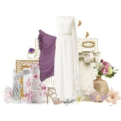 """Megara (Meg) Wedding - Disney's Hercules"" by rubytyra on Polyvore"