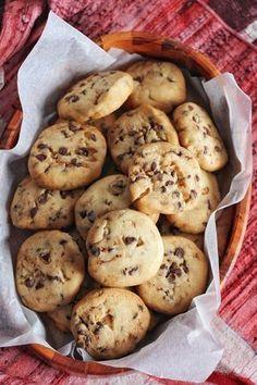 Biscuits sablés aux pépites de chocolat (avec 3 ingrédients seulement !)