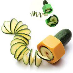 Novelty Cucumber Peeler Vegetable Slicer Fruit Kitchen Tool Cooking Gadget in Slicers | eBay