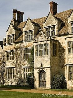 ARCHITECTURE – another great example of beautiful design. Old English manor house by janice.christensen-dean