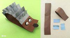 31 יצירות נייר מקסימות וחמודות שילדים יאהבו לעשות | דיילי באזז Paper Animal Crafts, Paper Animals