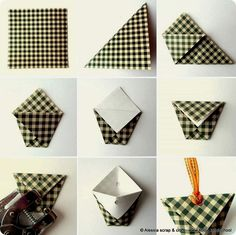 Selling craft: eco packaging with origami Envelope Origami, Origami Paper, Diy Paper, Paper Art, Paper Crafts, Origami Bag, Diy Origami, Origami Design, Craft Ideas