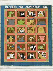 Welcome to Alphabet Zoo Quilt Pattern from Annie's Craft Store. Order here: https://www.anniescatalog.com/detail.html?prod_id=125797&cat_id=1430