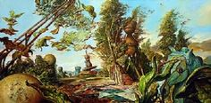 Samuel Bak Oil on Canvas