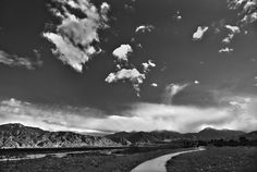 This photo was taken this past winter by the wash near the Redlands Airport. I took this in black and white because I wanted to capture that feeling of old Redlands and to accentuate the breathtaking scenery that always surrounds us.   Hasan Khodr