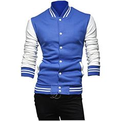 Partiss Mens Sports Jackets with Buttons