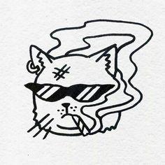 Best drawing tattoo cat tat Ideas drawing tattoo is part of Tattoo drawings - Tattoo Sketches, Tattoo Drawings, Cool Drawings, Body Art Tattoos, Art Sketches, Ship Tattoos, Gun Tattoos, Ankle Tattoos, Arrow Tattoos