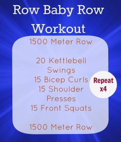 I need an erg. Rowing Wod, Rowing Machine Workouts, Crossfit At Home, Crossfit Wods, Rower Workout, Workout Plans, Workout Ideas, Fun Workouts, At Home Workouts