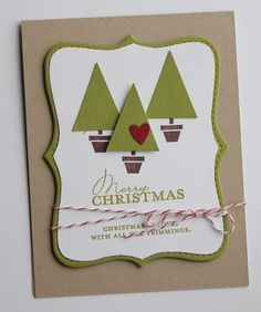Beautiful trees card