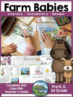 The Farm Babies unit, complete with tasks and factual reader. A huge hit in my classroom! We have a certain set of activities that never seem to grow old in my classroom. I'm thinking about the classics - word searches, crossword puzzles, scrambled words and so on. I always include these when I create units for the kids. I've noticed that the students that struggle seem to opt for these tasks first, expressing that they know they will be able to do them. This is important! Whenever they have…