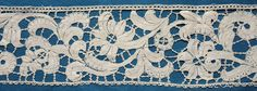 My choice for best lace from the 11/16/2014 Ebay Alerts.  Milanese border, from the Pat Earnshaw collection.