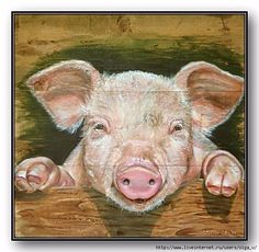 New Funny Things To Draw Creative Ideas Animal Sketches, Animal Drawings, Animal Cutouts, Pig Art, Farm Art, Funny Drawings, Watercolor Animals, Pictures To Paint, Animal Paintings